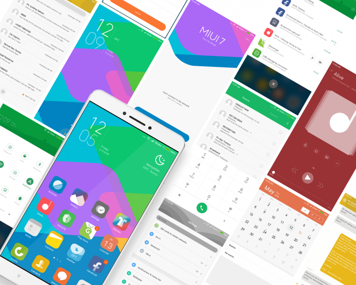 Top 5 Best MIUI 8 based free theme for Xiaomi Smartphones 2017