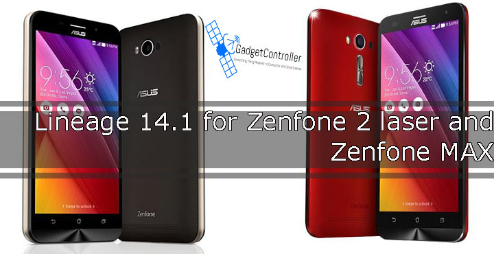 Download and Install Lineage OS 14.1For Zenfone Max and Zenfone 2 Laser