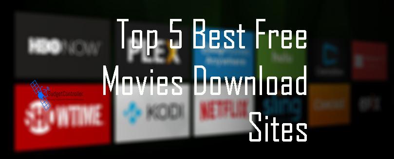 Top 5 Best free Movie Downloads Sites 2018