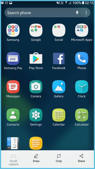 Samsung Galaxy S8 Launcher for all stock TouchWiz phones [APK Download]