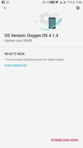 Download Oxygen OS 4.1.4 Update for OnePlus 3/3T (OTA and Full ROM)
