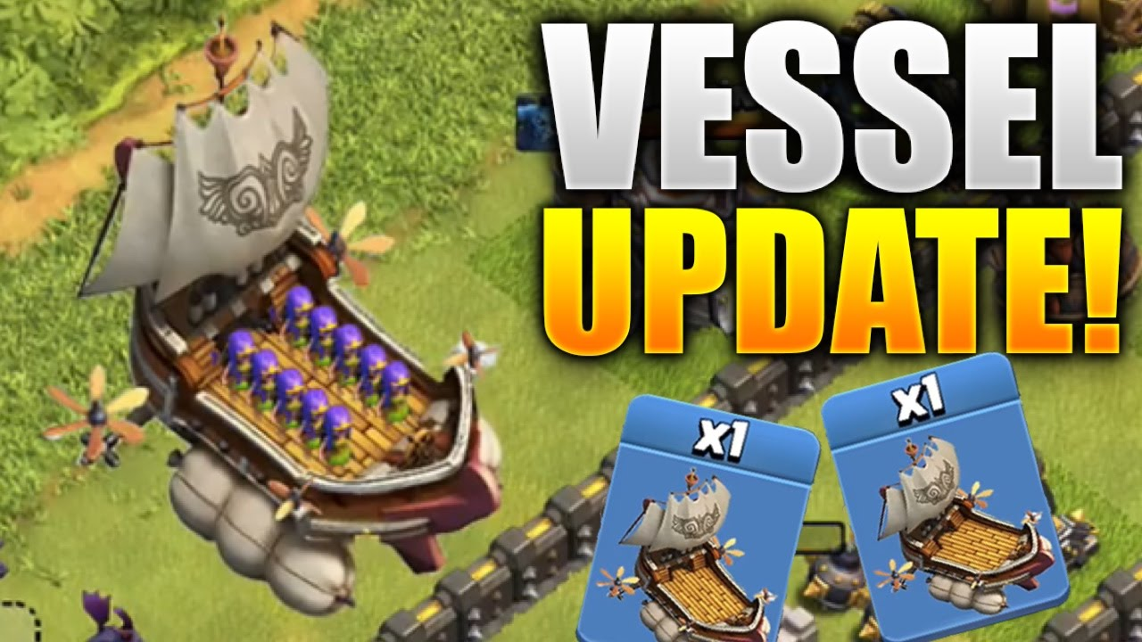 Download Clash Of Clans New Boat/Ship Update (May Update)